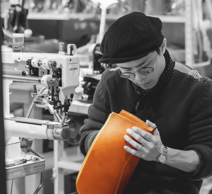 革製品の職人