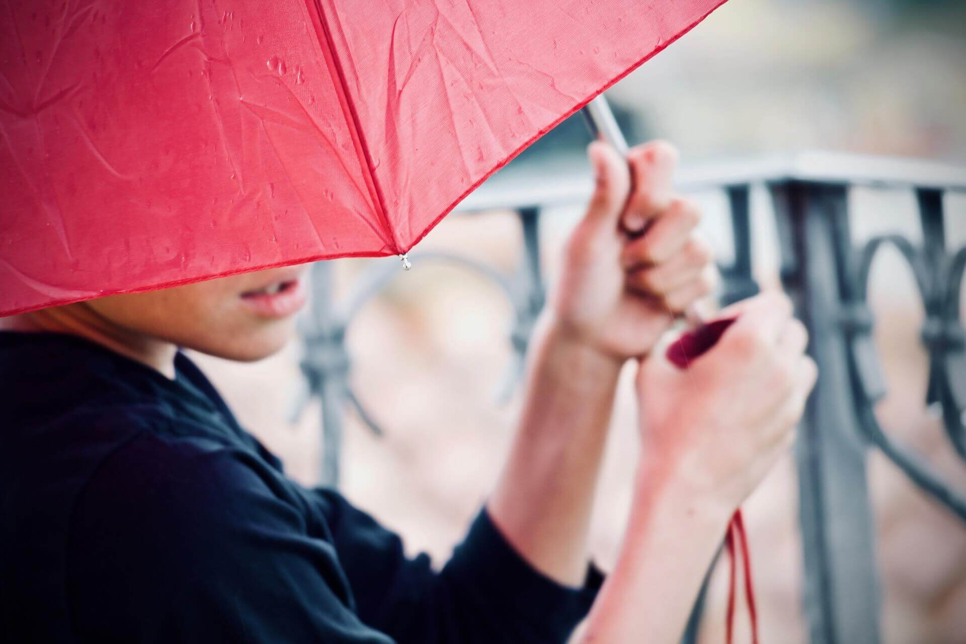 革の雨濡れ・水染みの対処法