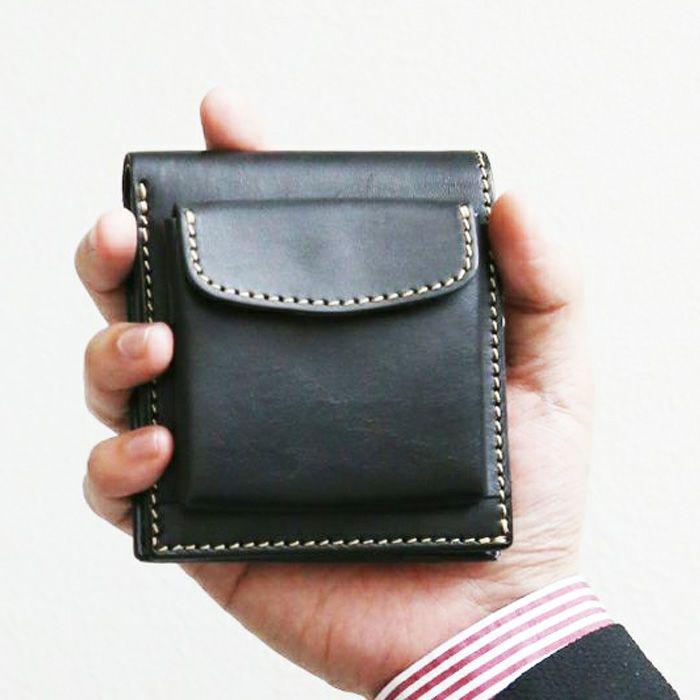 PORCO ROSSO/外小銭入れ付き2つ折り財布